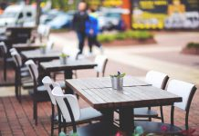 restaurant no wait empty table